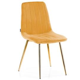 Valgomojo kėdė Homede Sarva Mustard, 4 vnt.