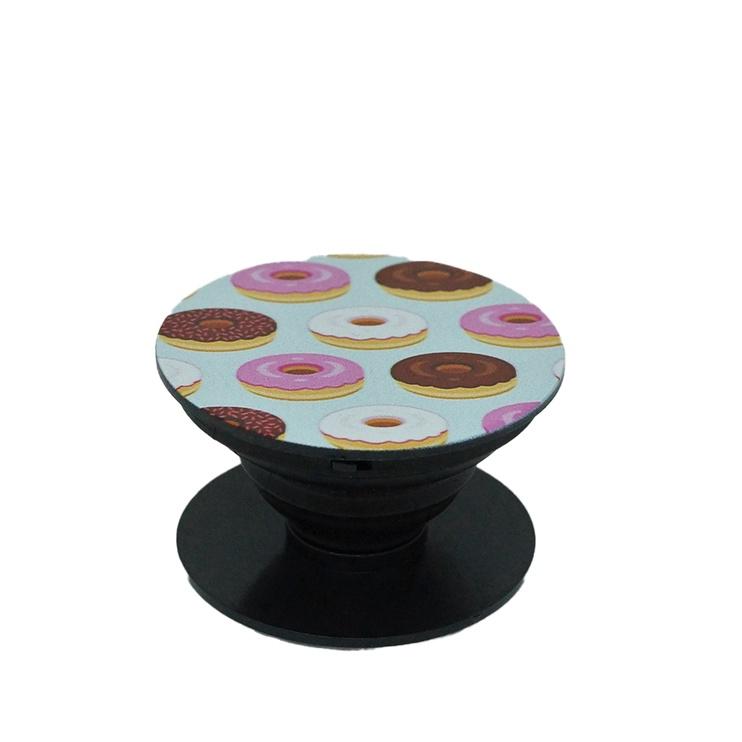 Pop-sockets stands small doughnut