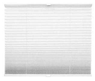 Acus Textile Pleated Blinds White 600x1300mm