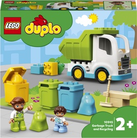 Конструктор LEGO Duplo Garbage Truck And Recycling 10945, 19 шт.