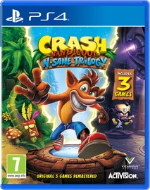 Žaidimas Crash Bandicoot N. Sane Trilogy PS4