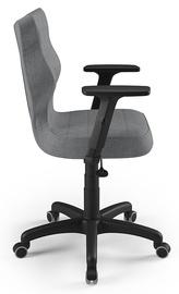 Офисный стул Entelo Uni AL03, черный/серый