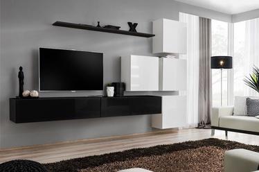 Dzīvojamās istabas mēbeļu komplekts ASM Switch IX Black/White