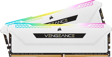 Corsair Vengeance RGB PRO SL White 32GB 3600MHz CL18 DDR4 KIT OF 2