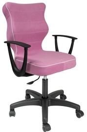 Детский стул Entelo VS08 Black/Pink, 400x370x1010 мм