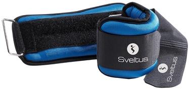 Sveltus Lycra Weighted Cuffs 0.5kg Blue