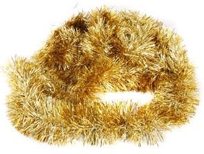 Verners Garland 2.5m Gold