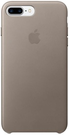 Apple Leather Back Case For Apple iPhone 7 Plus/8 Plus Taupe