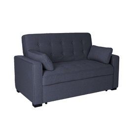 Home4you Nicky Sofa Bed Dark Grey
