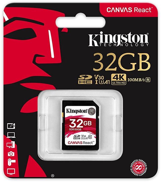 Kingston Canvas React SD 32GB