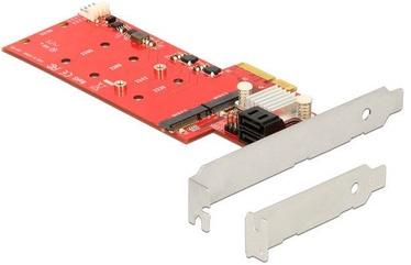Delock PCIe 2 x internal M.2 + 2 x SATA RAID