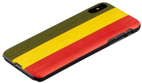 Man&Wood Reggae Back Case For Apple iPhone XS Max