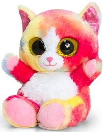 Keel Toys Animotsu Rainbow Cat 15cm