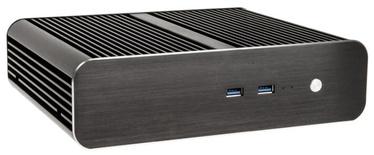 Akasa Euler S Fanless Thin-Mini-ITX Case Black