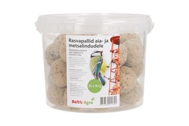 Rasvapallid aia- ja metsalindudele Baltic Agro, 30 x 90 g