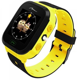 Media-Tech GPS 2.0 MT858 Tracking Watch For Kids Yellow/Black