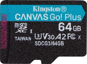 Kingston Canvas Go! Plus 64GB microSD UHS-I Class10