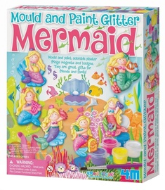 4M Mould And Paint Glitter Marmaid