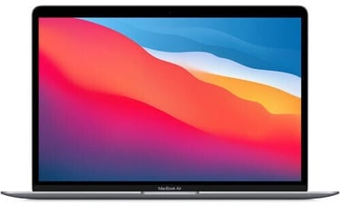 Nešiojamas kompiuteris Apple MacBook Air Retina / M1 / ENG / Space Gray M1, 8GB/256GB, 13.3""