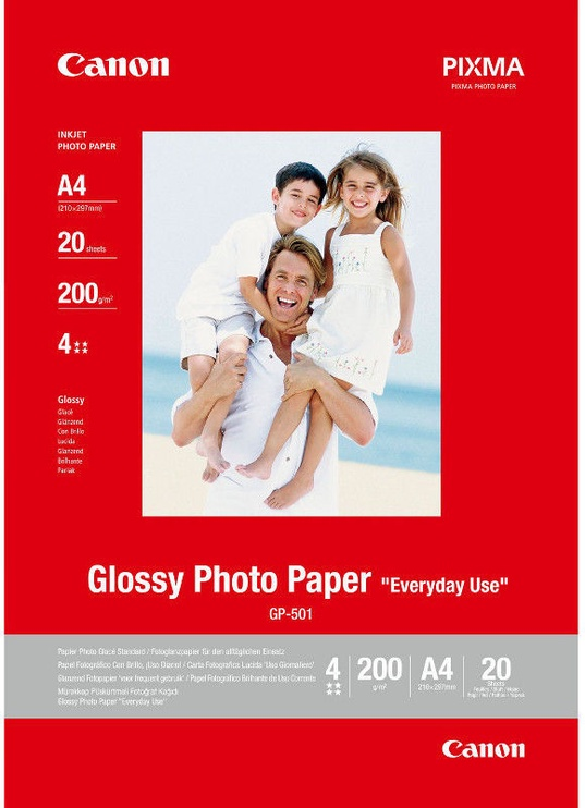Fotopaber Canon GP-501 A4 Glossy 20pcs