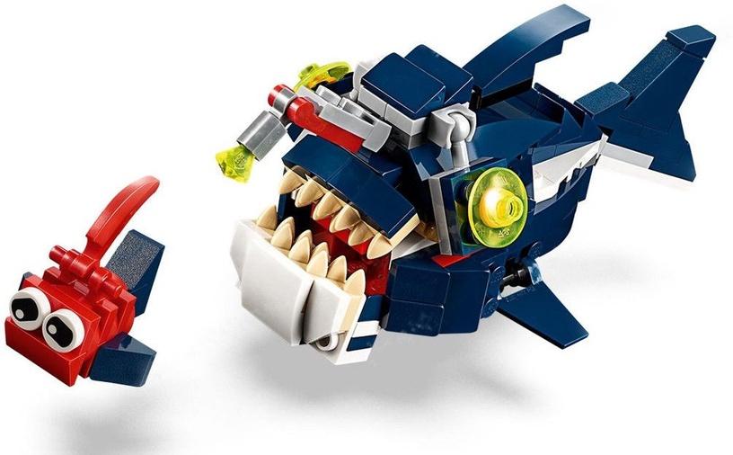 Konstruktors LEGO® Creator 31088 Dziļjūras radības
