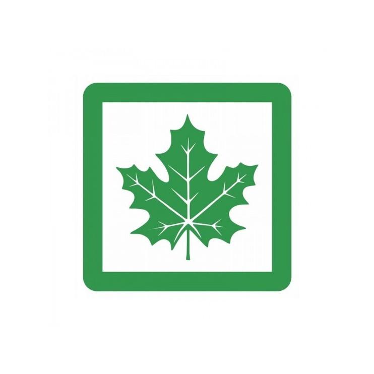 Maple Leaf Magnetic Sign 140x140mm