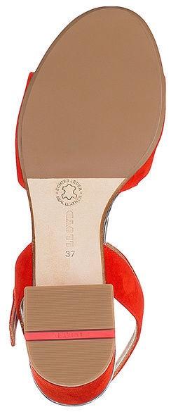 Lloyd Sandals 19-636-03 Scarlet Red Gunmetal 39.5