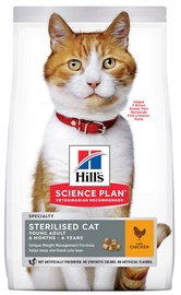 Hill's Science Plan Sterilised Cat Young Adult Food w/ Chicken 10kg