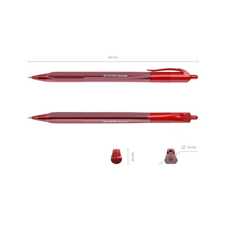 ErichKrause U-28 Ultra Glide Technology Pen Red