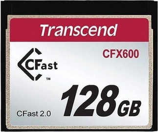 Transcend CompactFlash CFX600 128GB