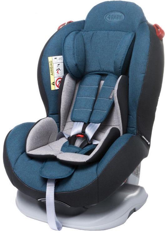 Automobilinė kėdutė 4Baby Rodos Navy Blue