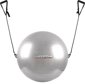 inSPORTline Gymnastic Ball With Grips 55cm Gray