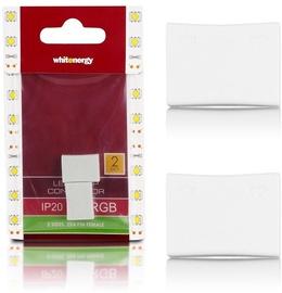Адаптер Whitenergy RGB LED 2x4 Pin Connector, белый, 0.01 м