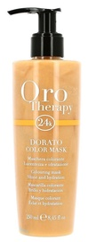 Kaukė plaukams Fanola Oro Therapy Dorato Color Mask, 250 ml