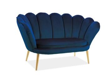 Dīvāns Signal Meble Magnolia 2 Blue, 85 x 152 x 87 cm