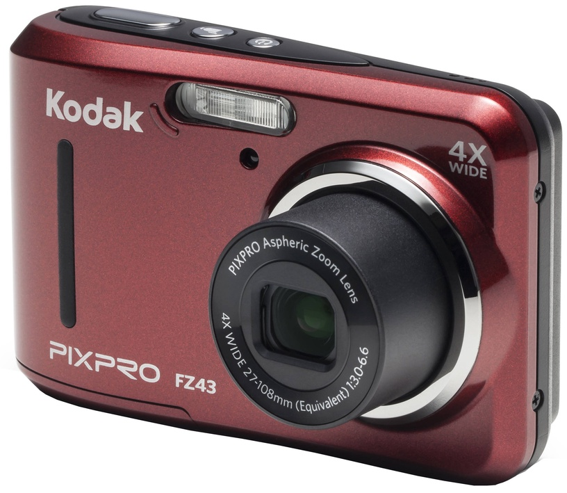 Kodak PixPro FZ43 Red