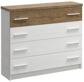 WIPMEB Markos Chest Of Drawers Pine Anderson/Oak