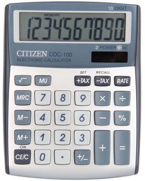 Citizen Calculator CDC 100WB