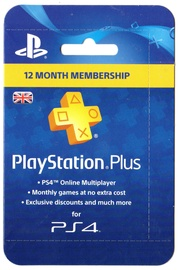 Sony PSN PlayStation Plus 12 Month Membership UK PSN IDs Only