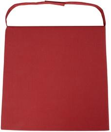 Подушка для стула Home4you Wicker 2-3, красный, 46x48 см