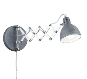 Sieninis šviestuvas Reality Scissor R20321078, 1x28W, E14