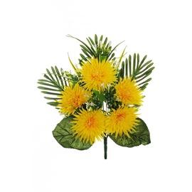 Букет искусственных цветов SN Artificial Chrysanthemum Bouquet H50cm Green Yellow
