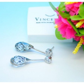Vincento Earrings With Swarovski Elements Briolette VE-2176