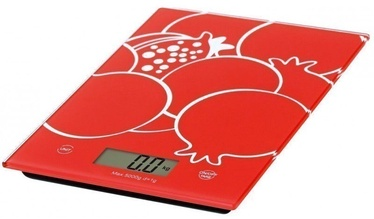 Omega OBSKR Kitchen Scale Red