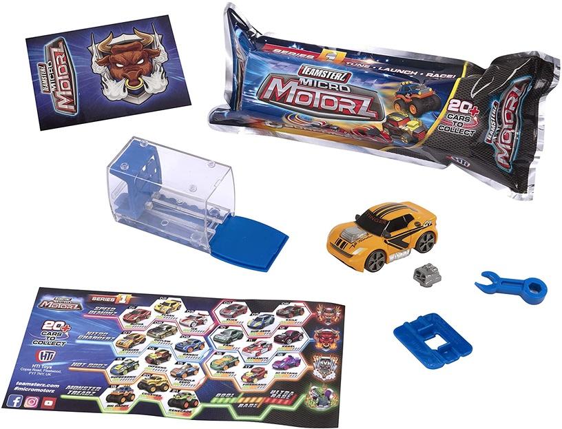 Modelis pārsteigums HTI Teamsterz Micro Motorz Series 1