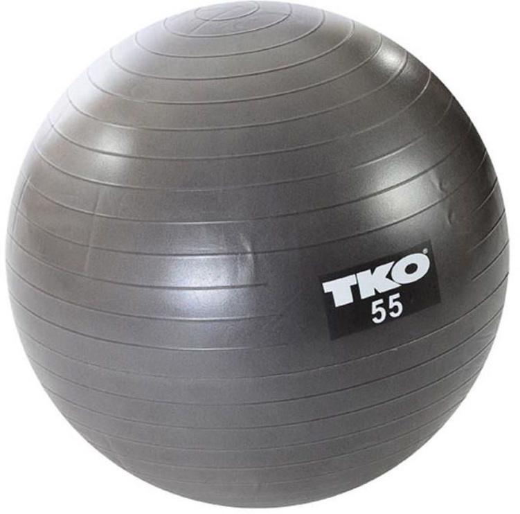 TKO Fitness Ball 55cm Gray