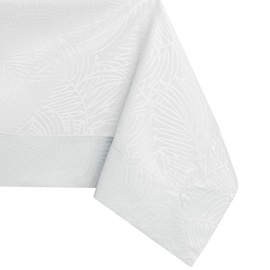 AmeliaHome Gaia Tablecloth BRD White 140x500cm