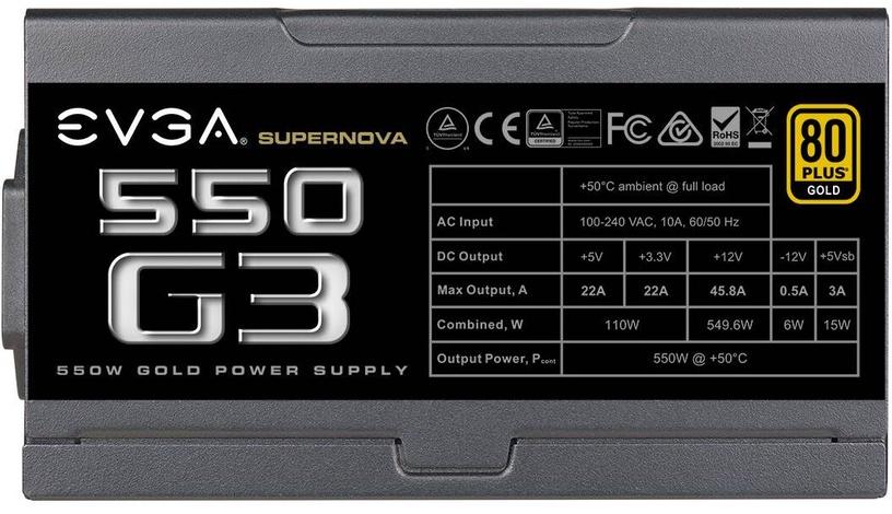 EVGA SuperNova G3 550W 220-G3-0550-Y2