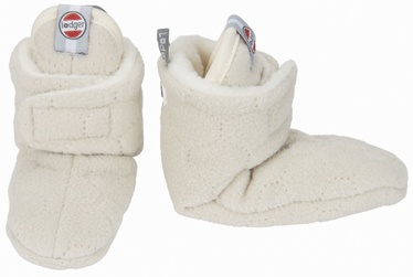 Lodger Fleece Booties BotAnimal Ivory 3-6m