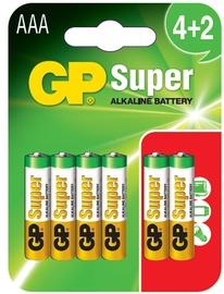 PATAREI GP ALKLINE 4+2 AAA (LR3)